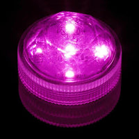 Pink Five LED Submersible - Pack of 10 - IntelliWick