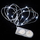 White Ten LED String Light - Pack of 3 - IntelliWick