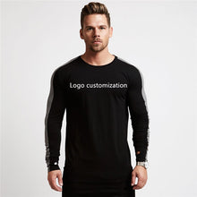 Load image into Gallery viewer, DIY Fitness Bodybuilding Cotton Long Sleeve Shirt