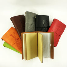 Load image into Gallery viewer, Leather Travelers Journal with Spiral Refillable Binding