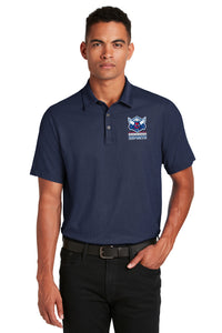 Shenandoah University Polo - Logo with Wordmark