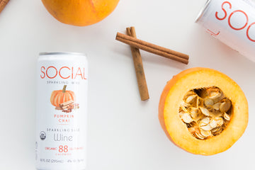 SOCIAL Sparkling Wine: Organic Wine Brand Launches Limited Edition Flavor