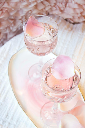 SOCIAL Sparkling Rose Cocktail