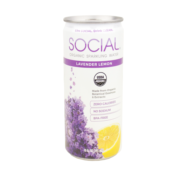 Lavender Lemon Sparkling Water 24-Pack