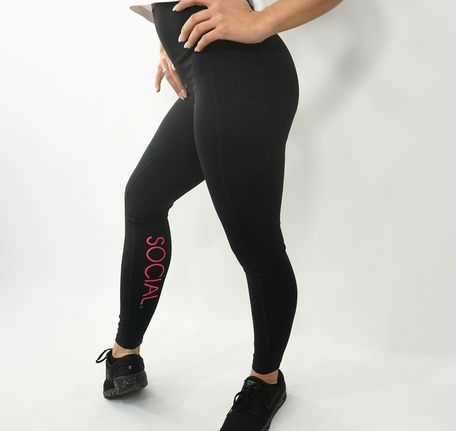 SOCIAL Leggings (Multiple Colors)