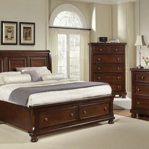Reflections Mansion Storage Bed