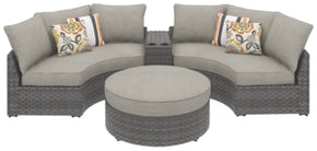 Spring Dew 4-Piece Outdoor Seating Set