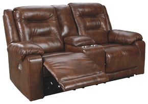 Golstone Power Reclining Loveseat with Console