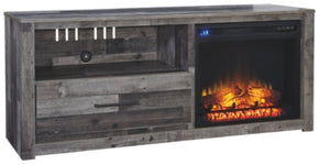 "Derekson 59"" TV Stand with Fireplace"