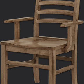 Simply Dining Horizontal Slat Chair