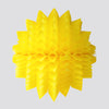 Spiky Honeycomb Ball, Yellow