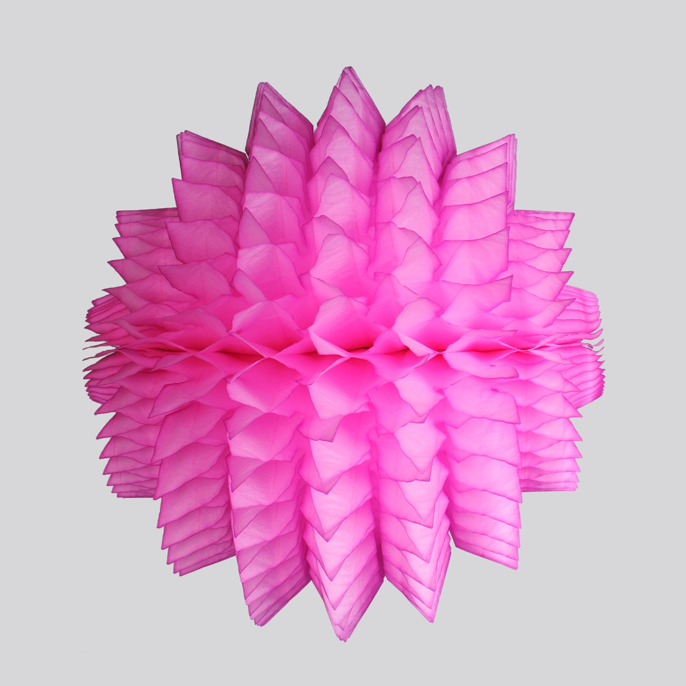 Spiky Honeycomb Ball 40cm, Bright Pink