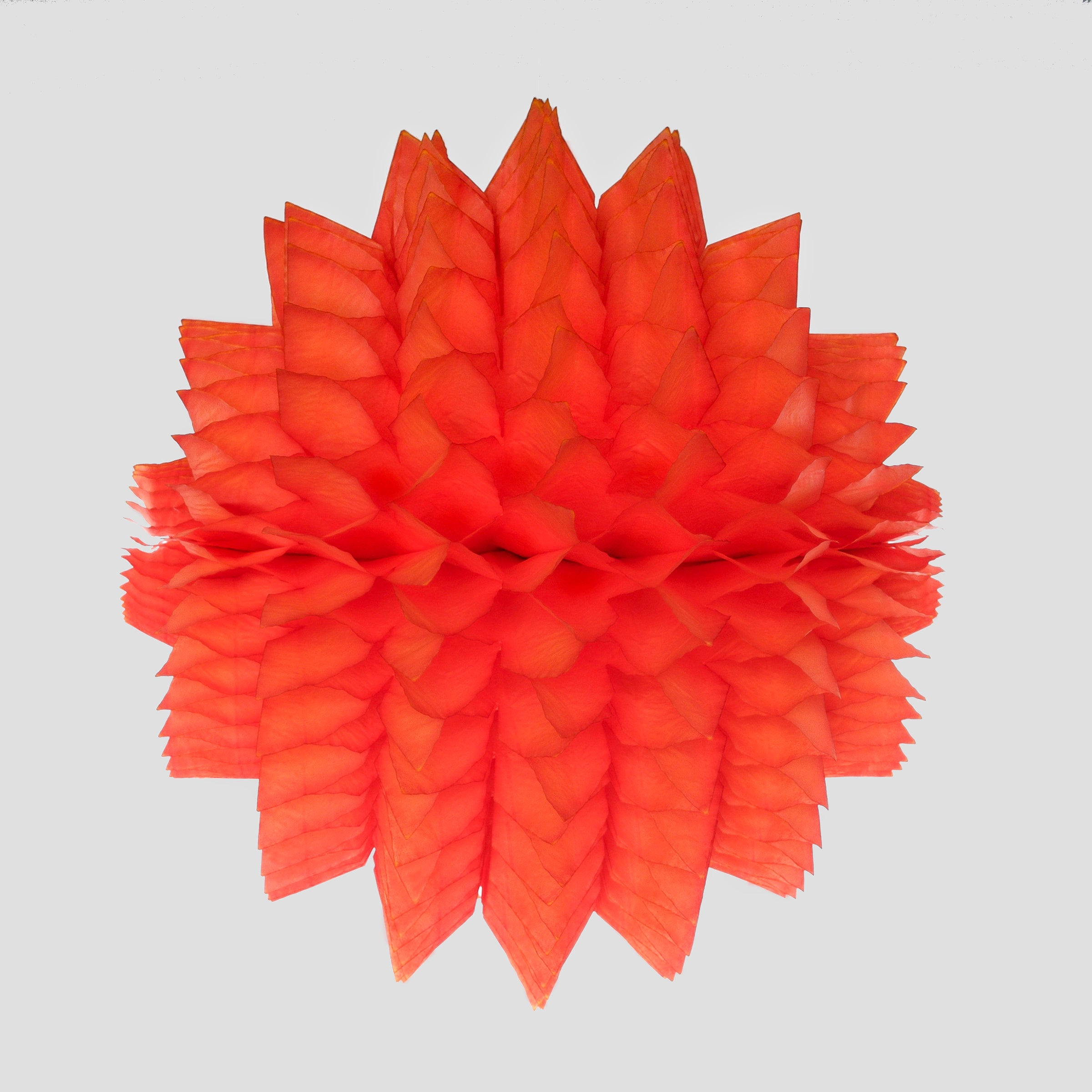 Spiky Honeycomb Ball 40cm, Bright Orange