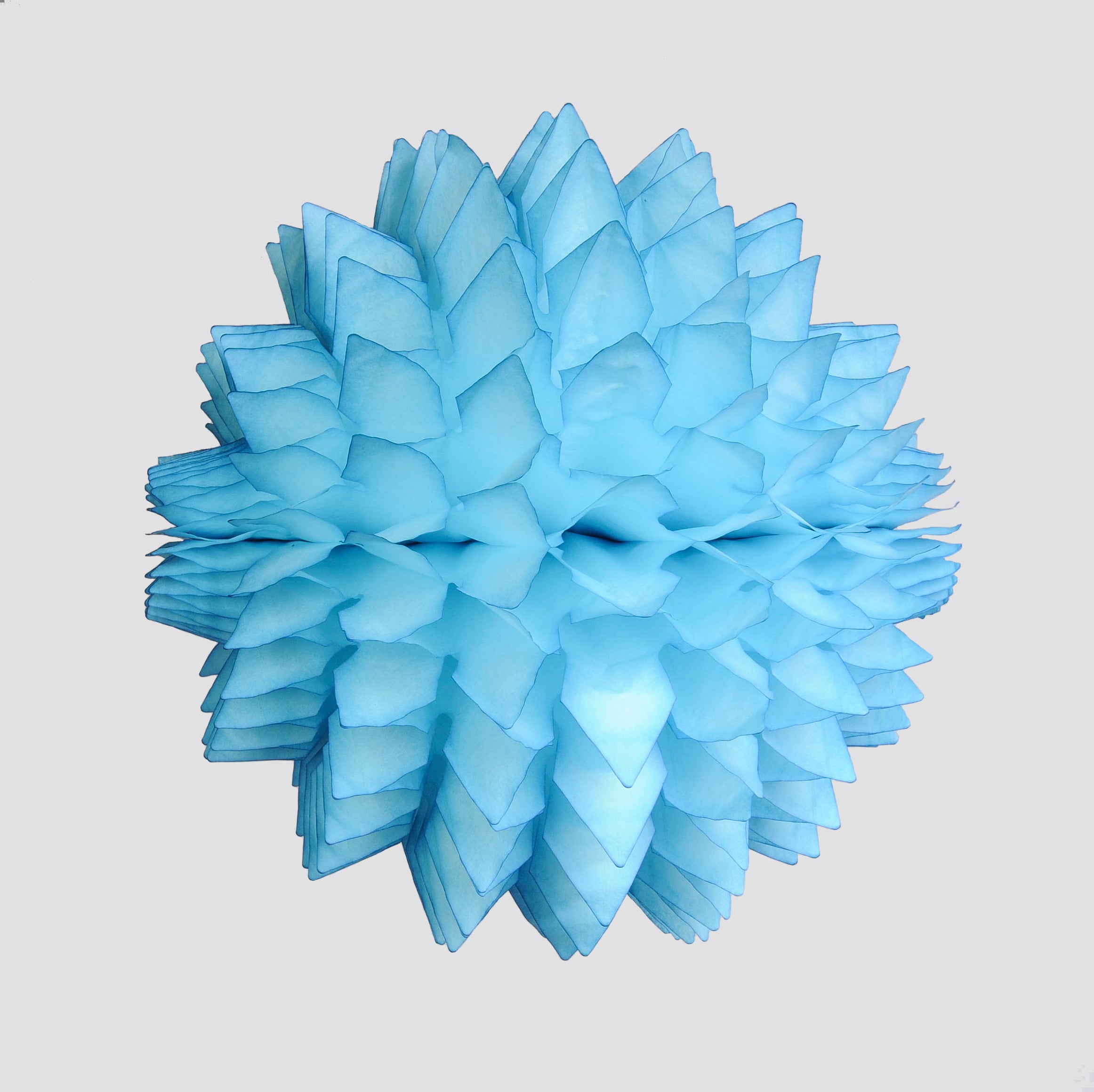 Spiky Honeycomb Ball 40 CM, Bright Blue