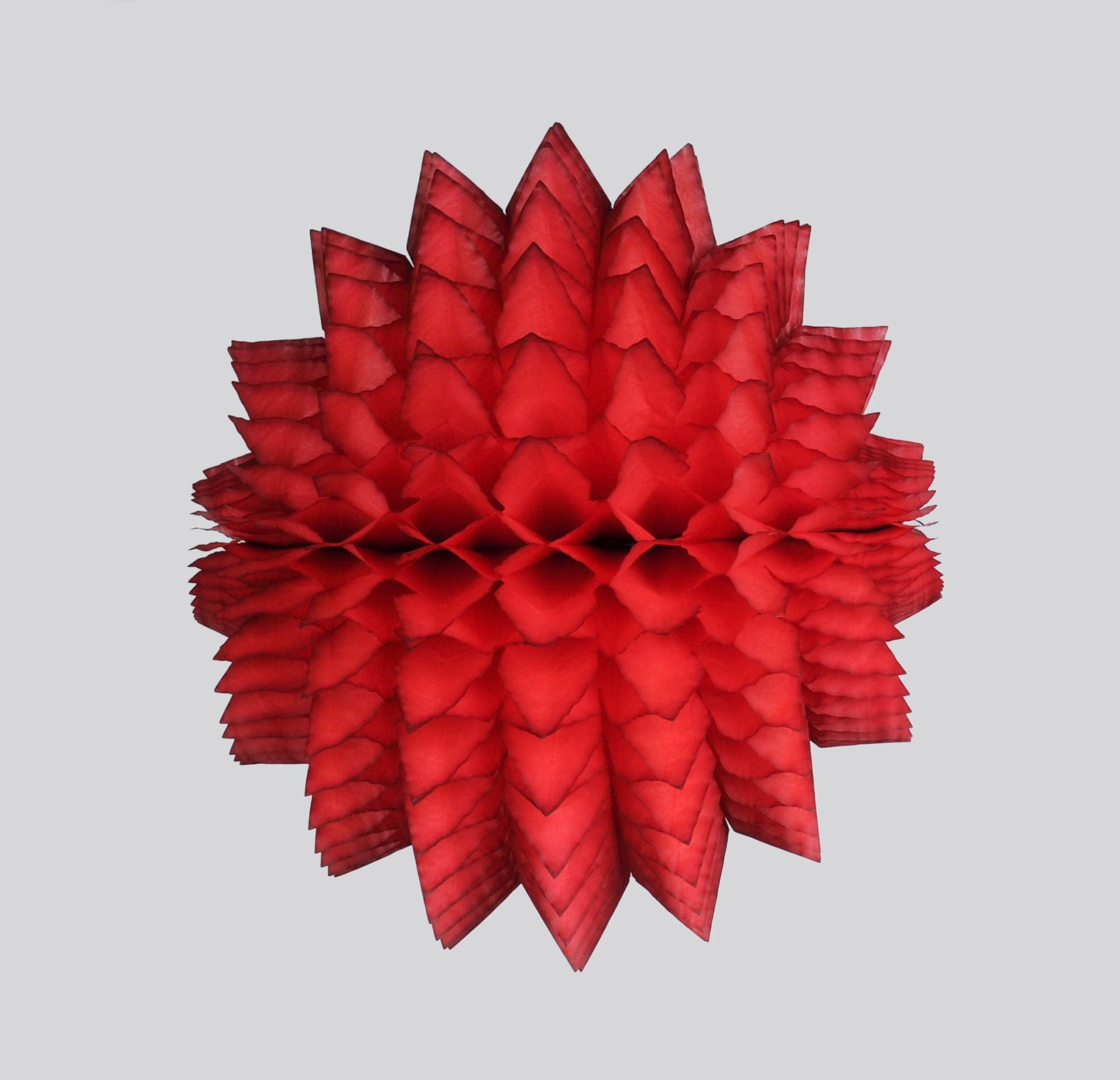 Spiky Honeycomb Ball 40cm, Classic Red