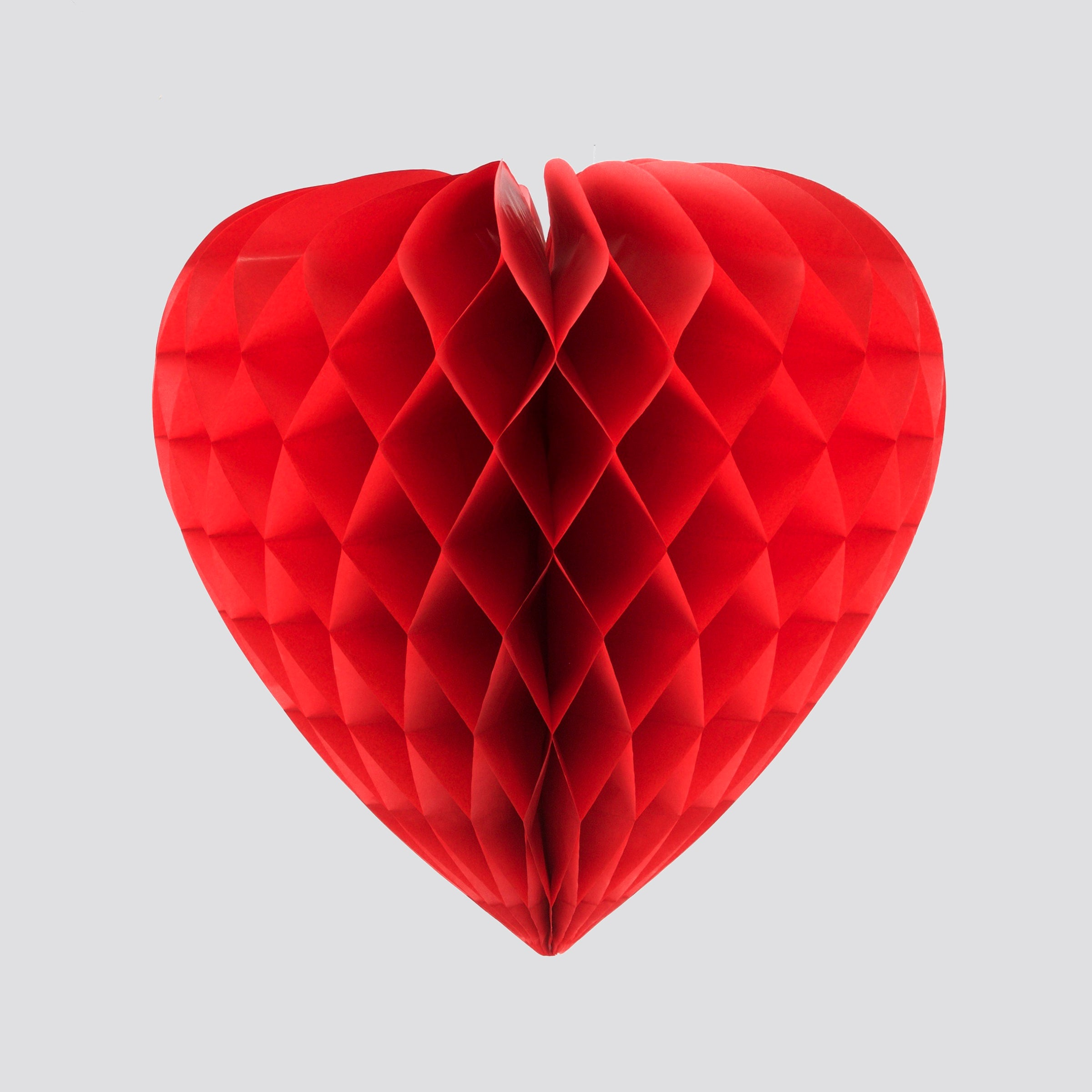 Honeycomb Heart, Red