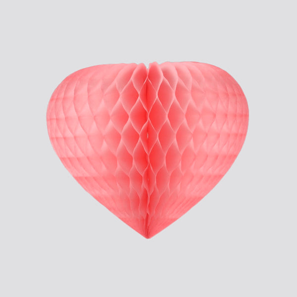 Honeycomb Heart, Pink
