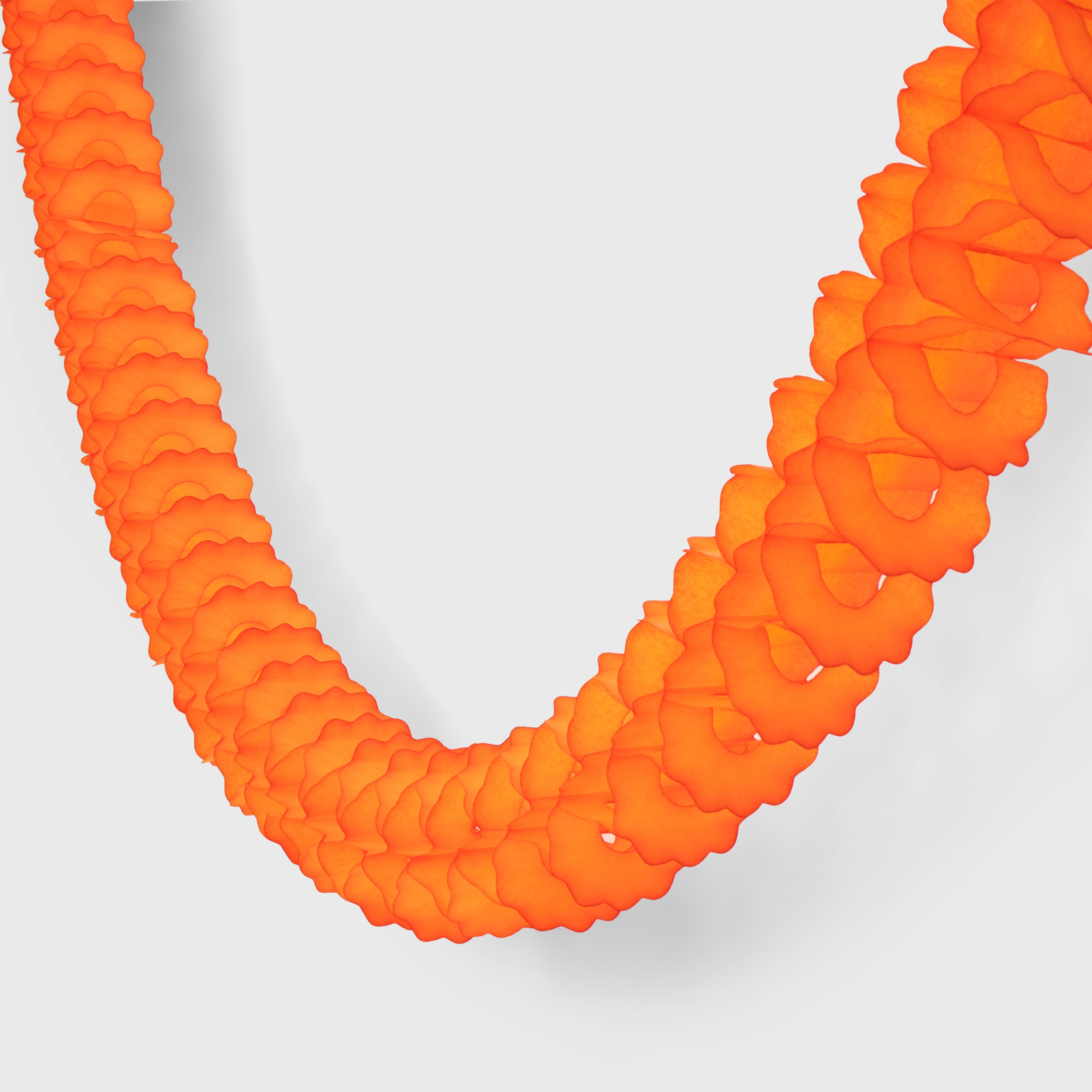 Classic Garland, Bright Orange