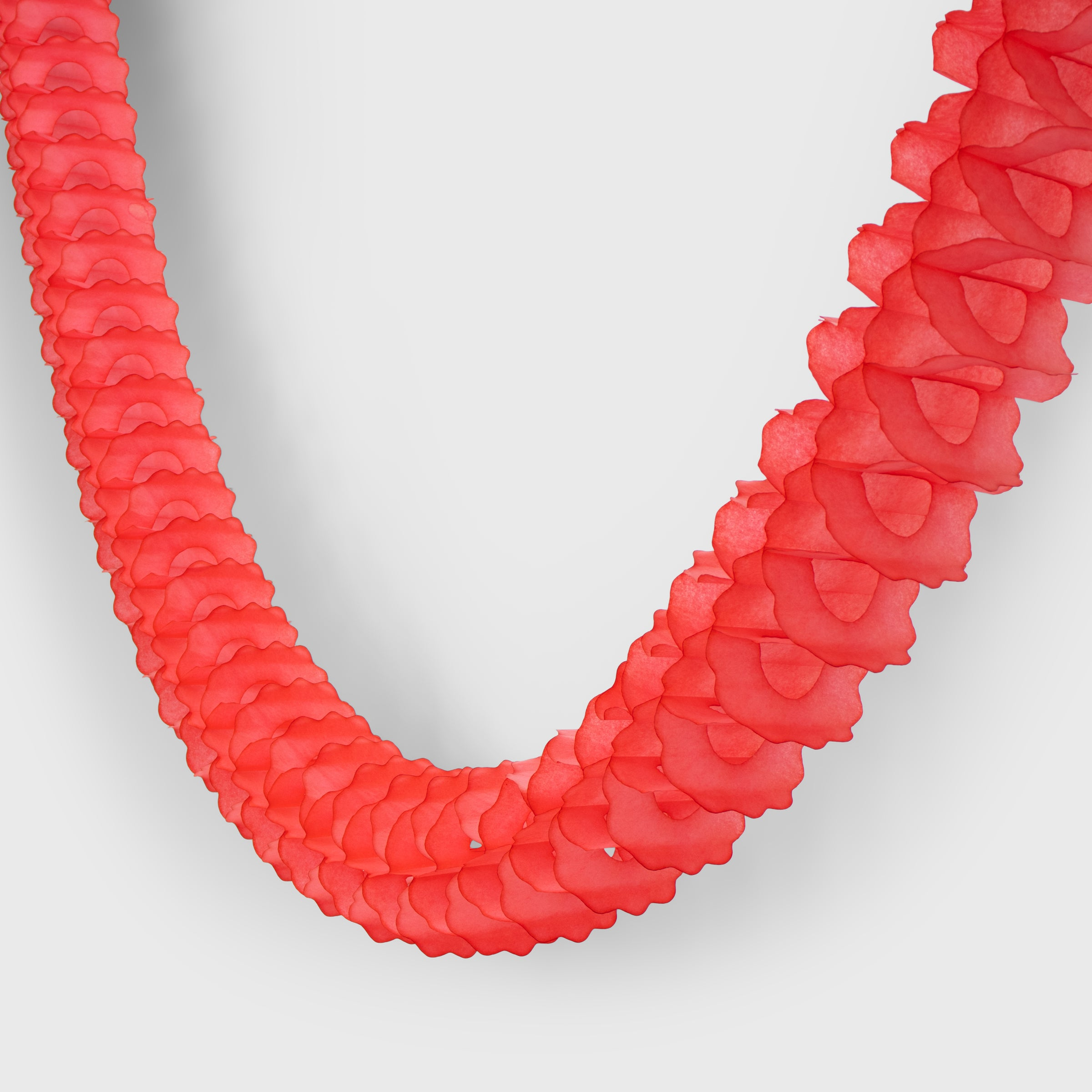 Classic Garland, Bright Red