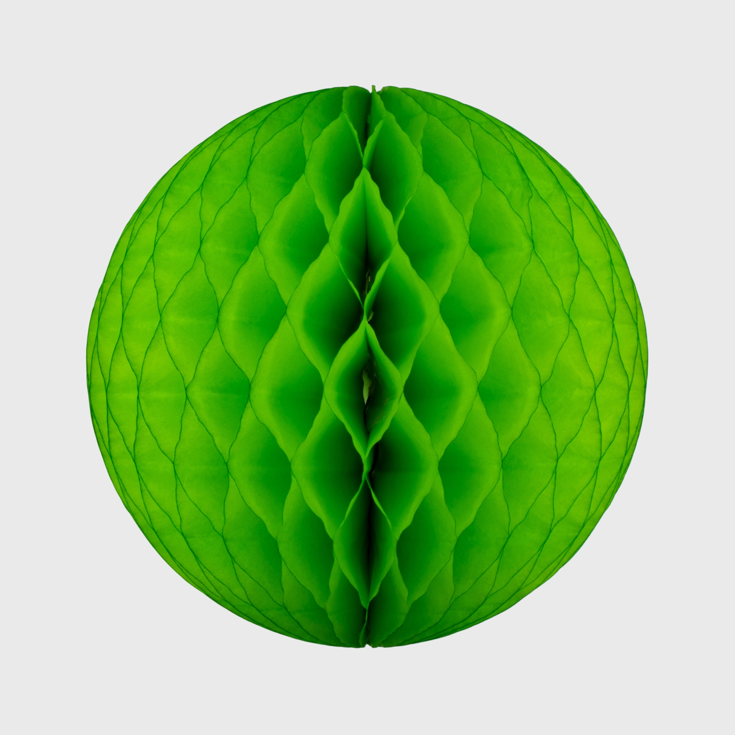 Honeycomb Ball, Bright Green