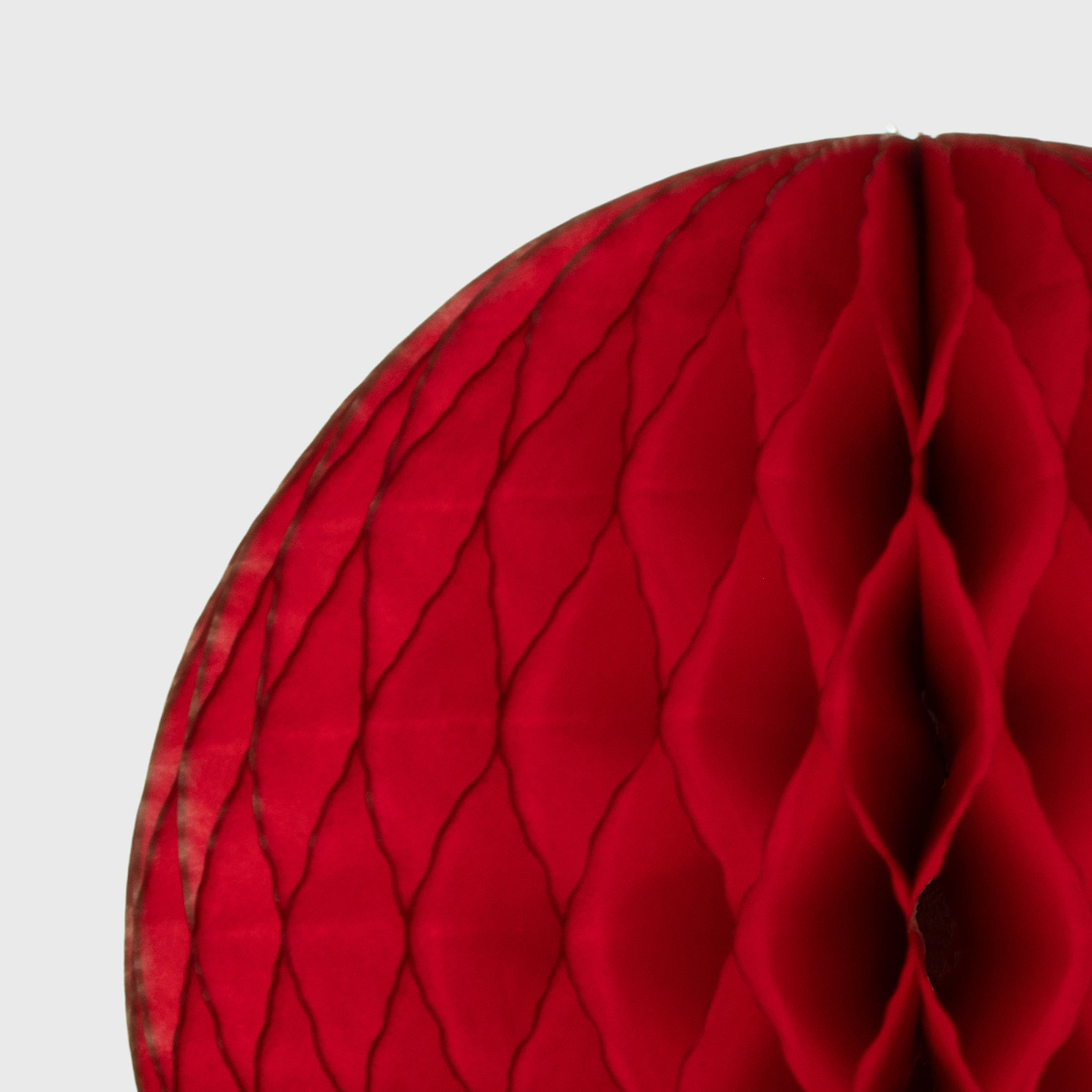 Honeycomb Ball, Classic Red
