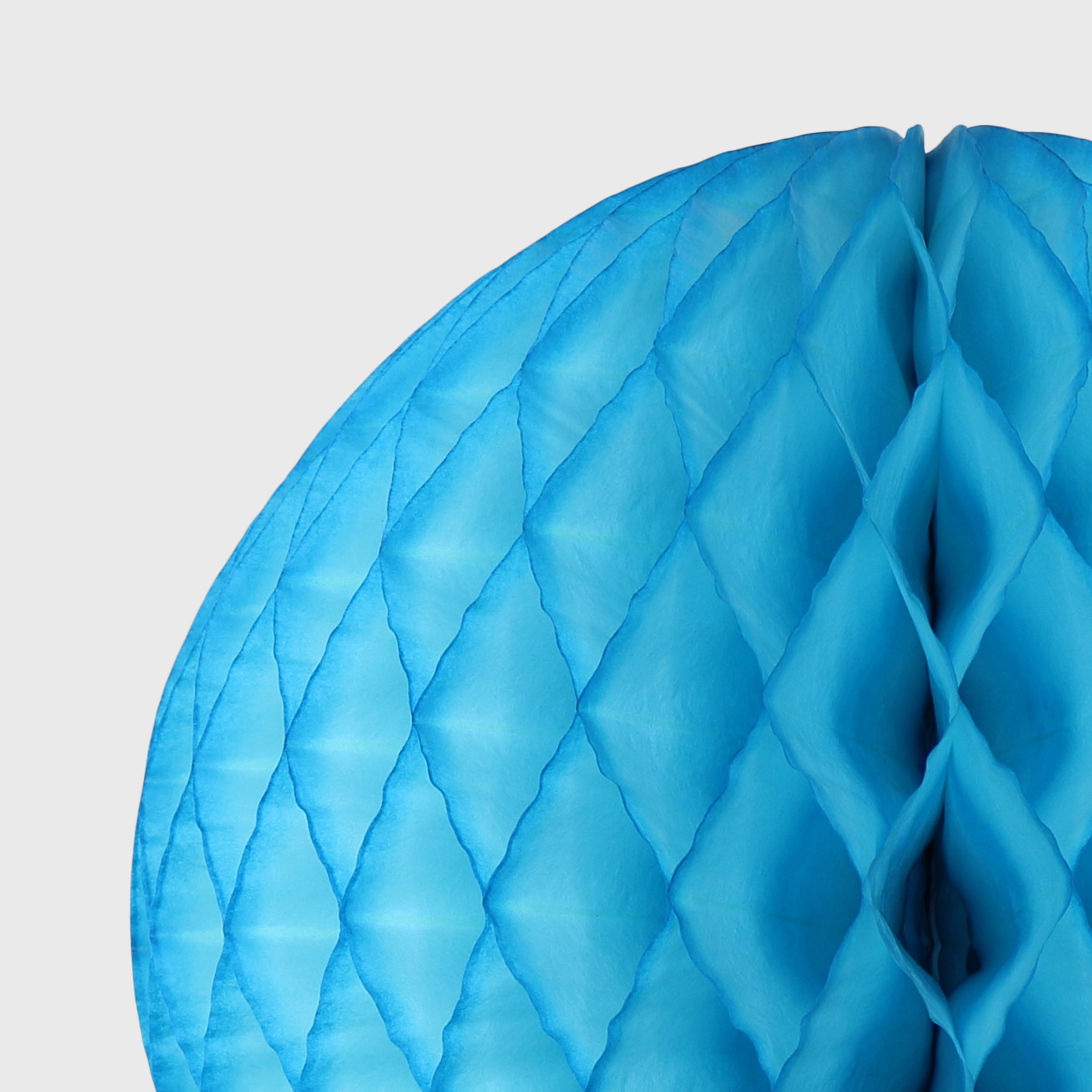 Honeycomb Ball, Bright Blue