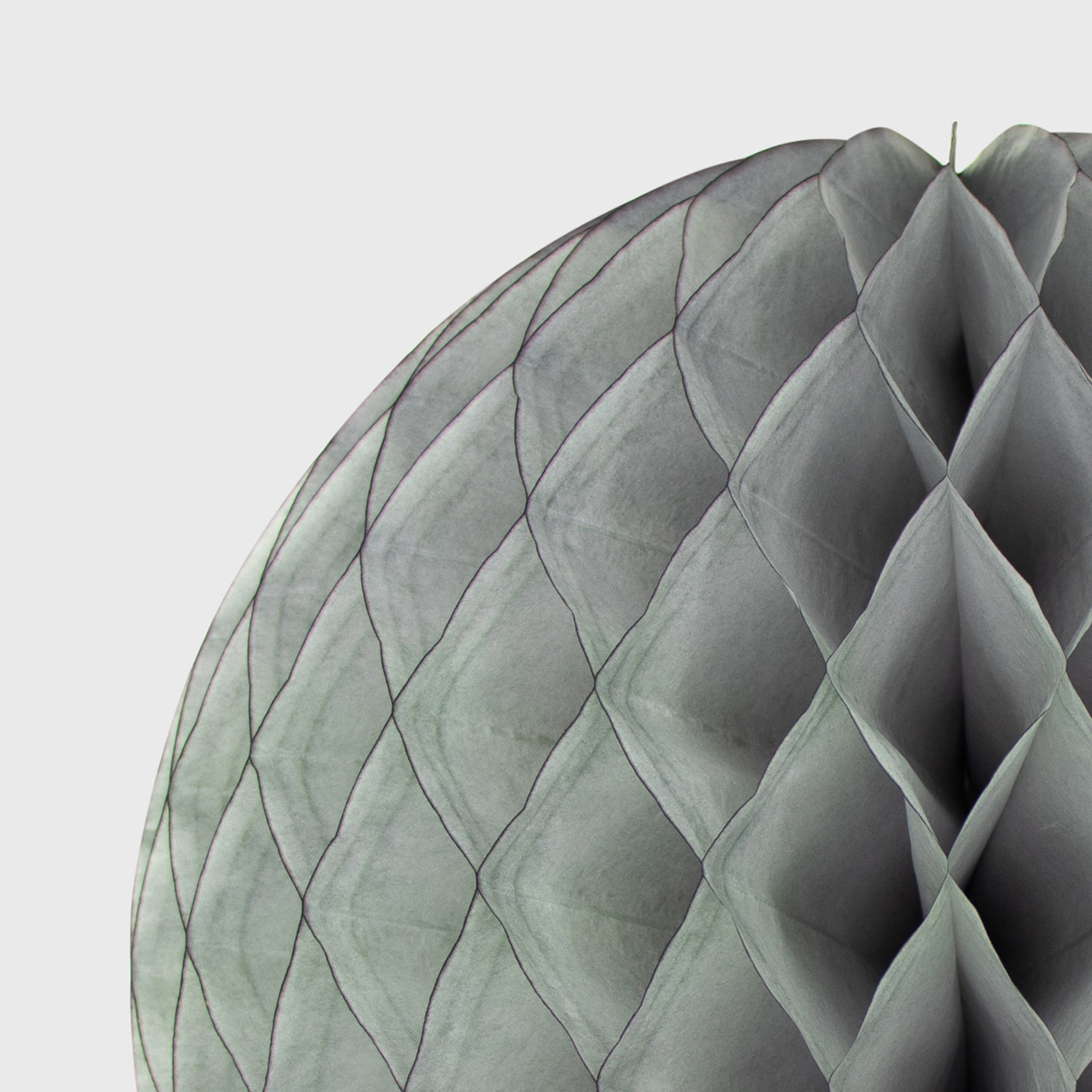 Honeycomb Ball, Grey