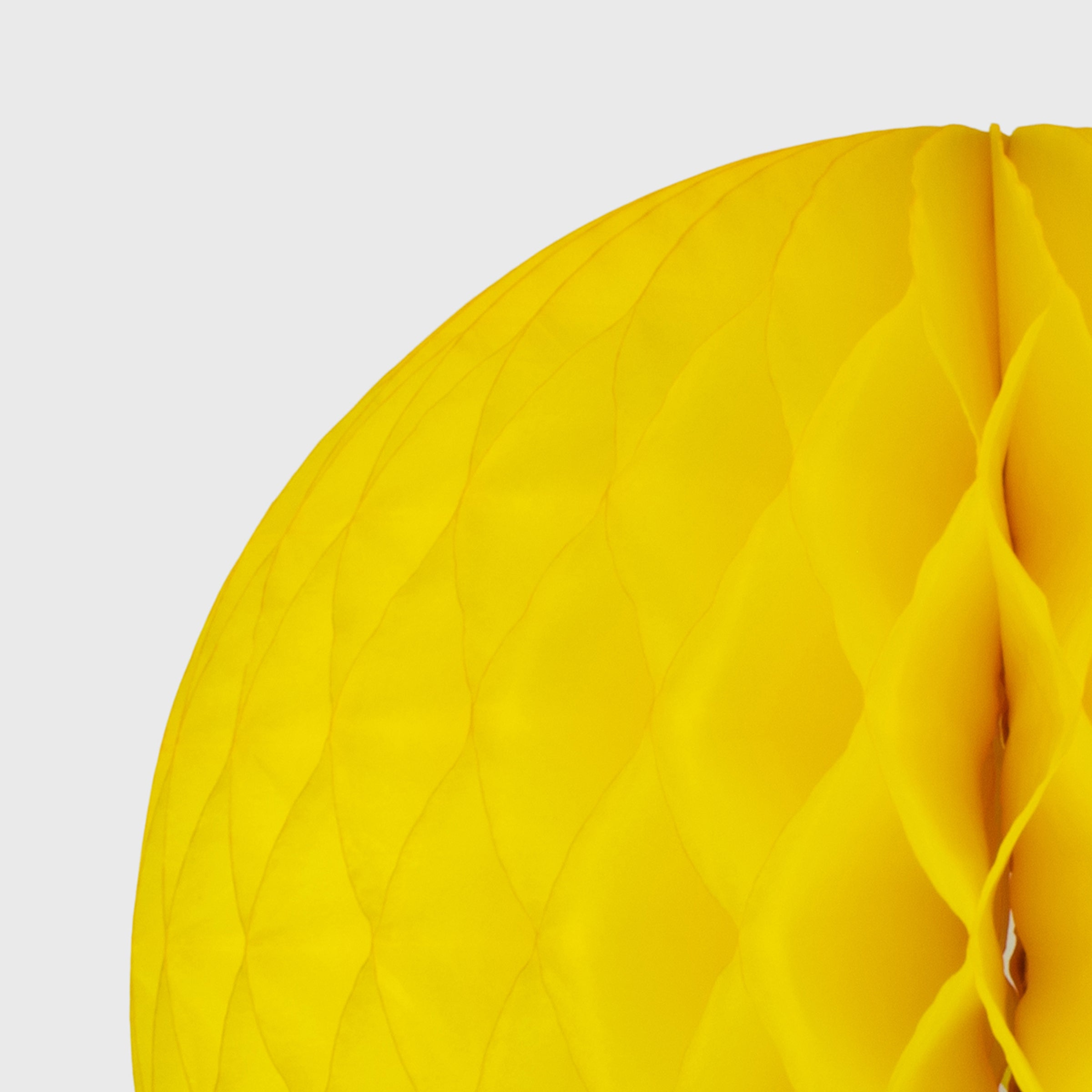 Honeycomb Ball, Bright Yellow