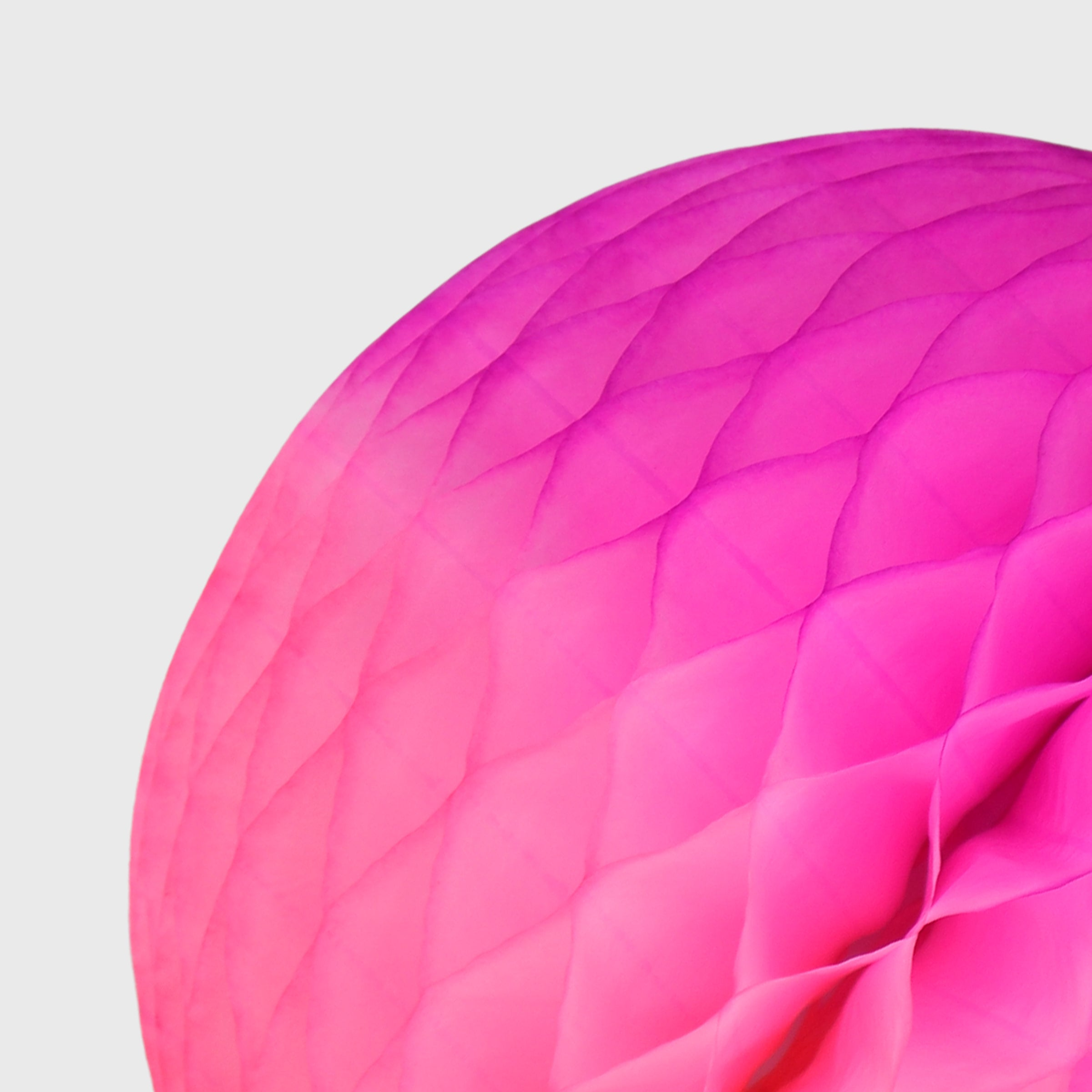 Honeycomb Ball, Pink Ombre