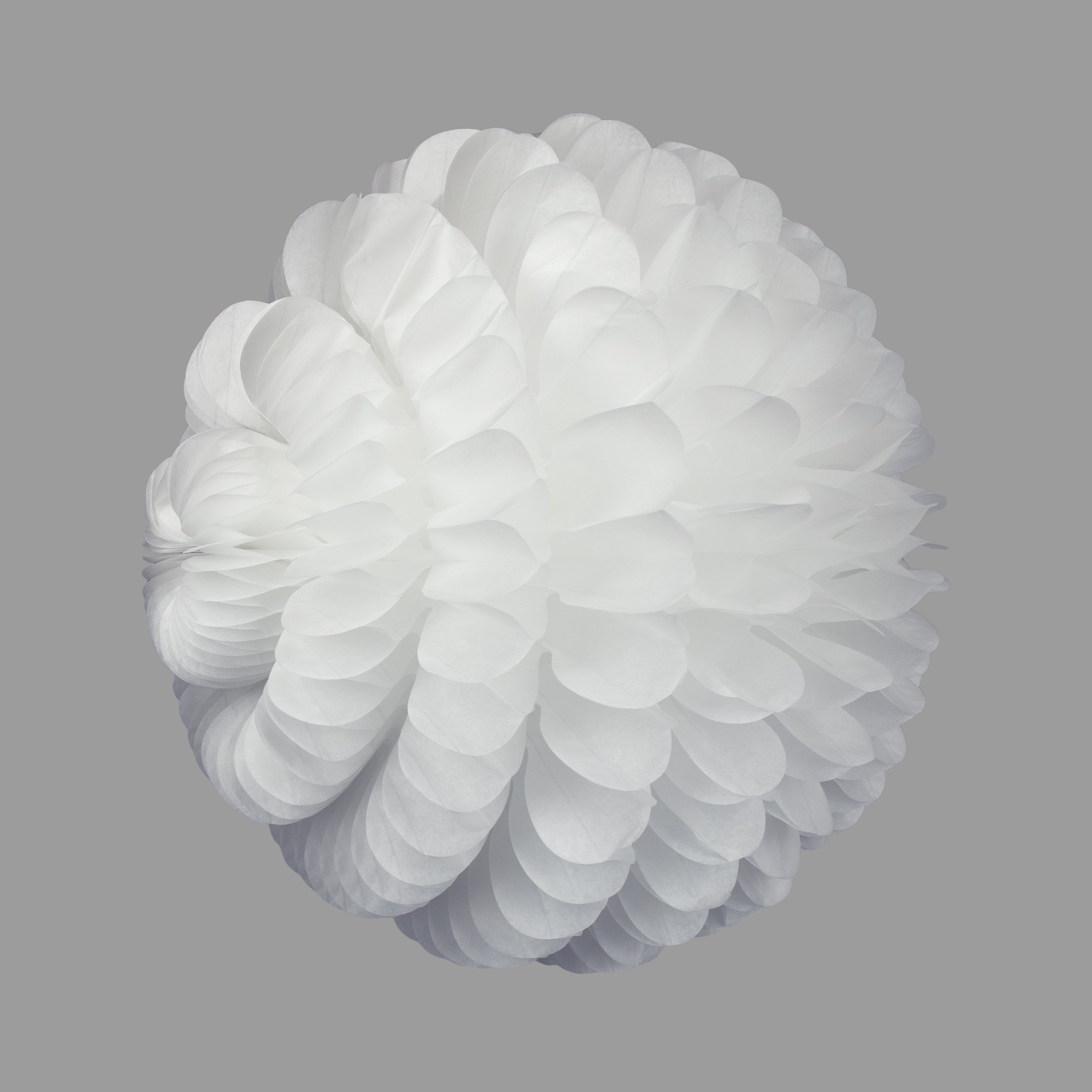 Cloud Honeycomb Ball, White