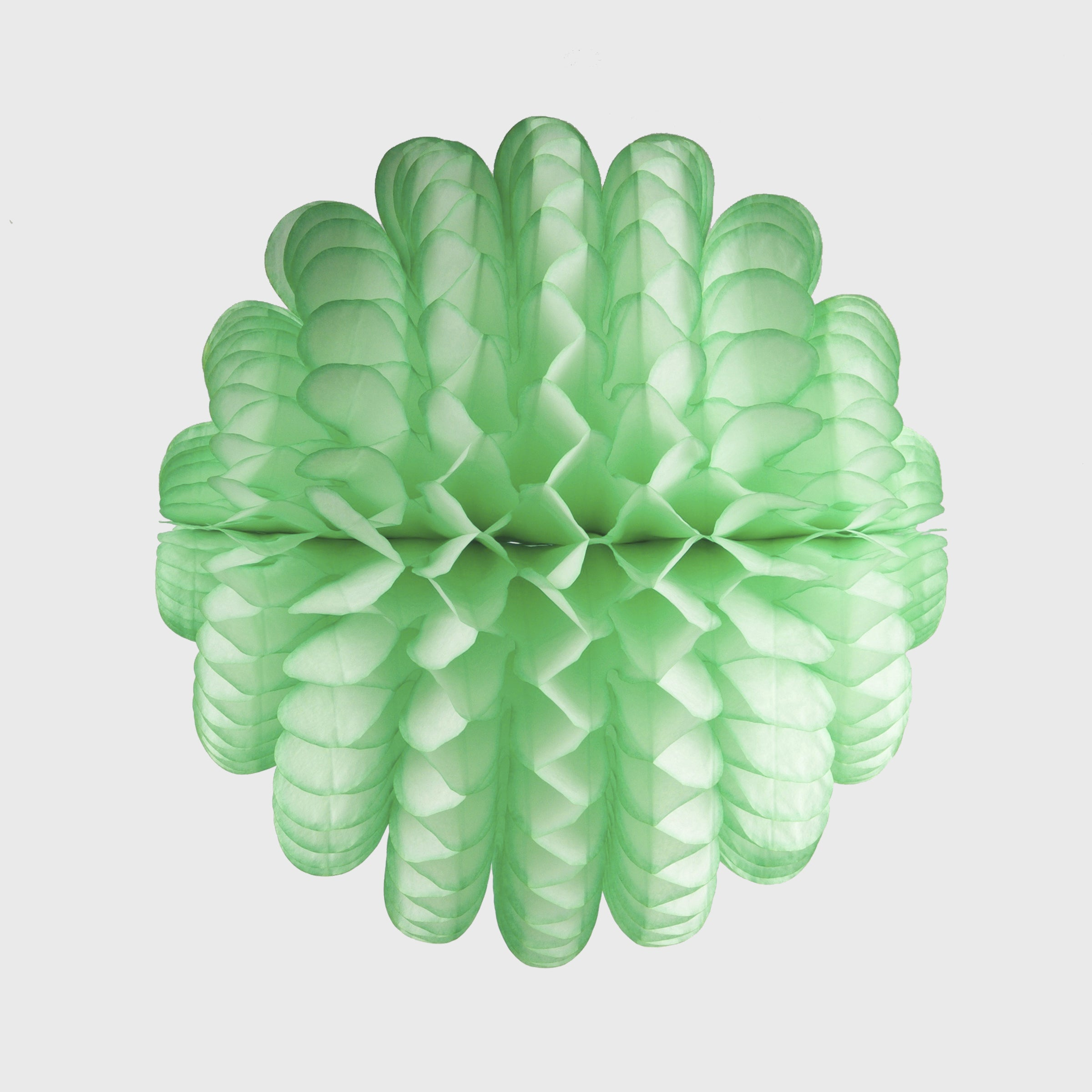 Cloud Honeycomb Ball 35cm, Lime Sherbet