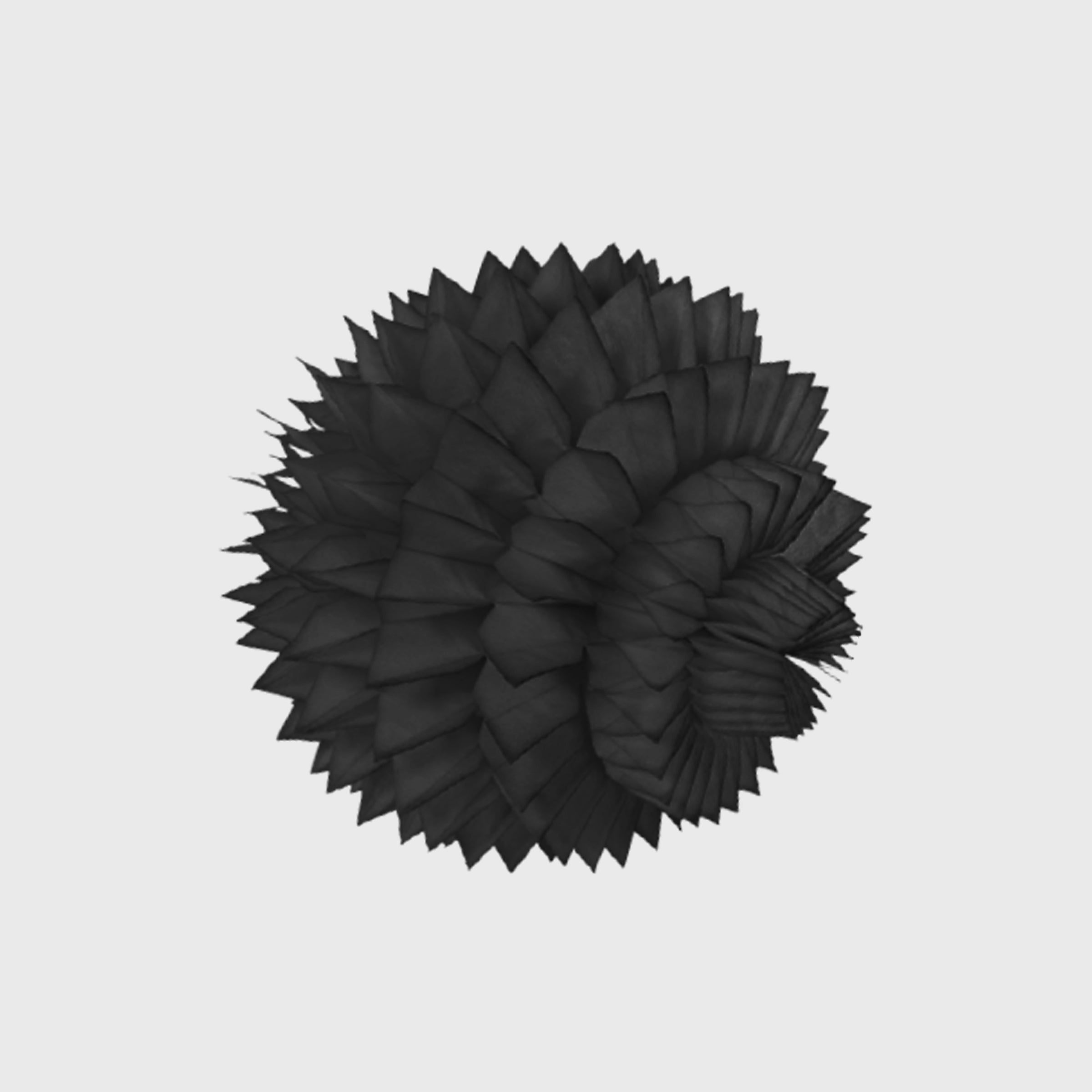 Spiky Honeycomb Ball 30cm, Black