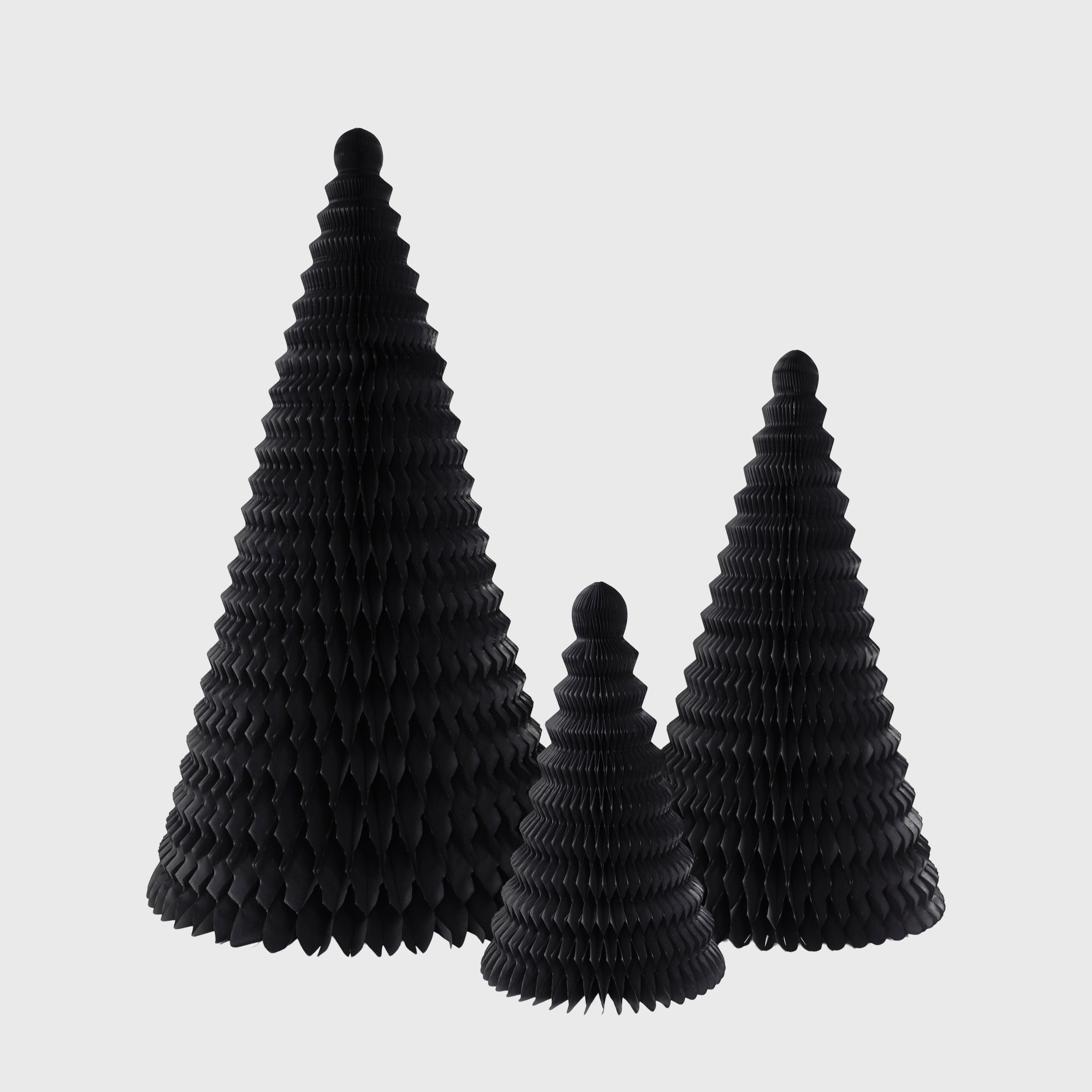 Cone Honeycomb Tree, Black