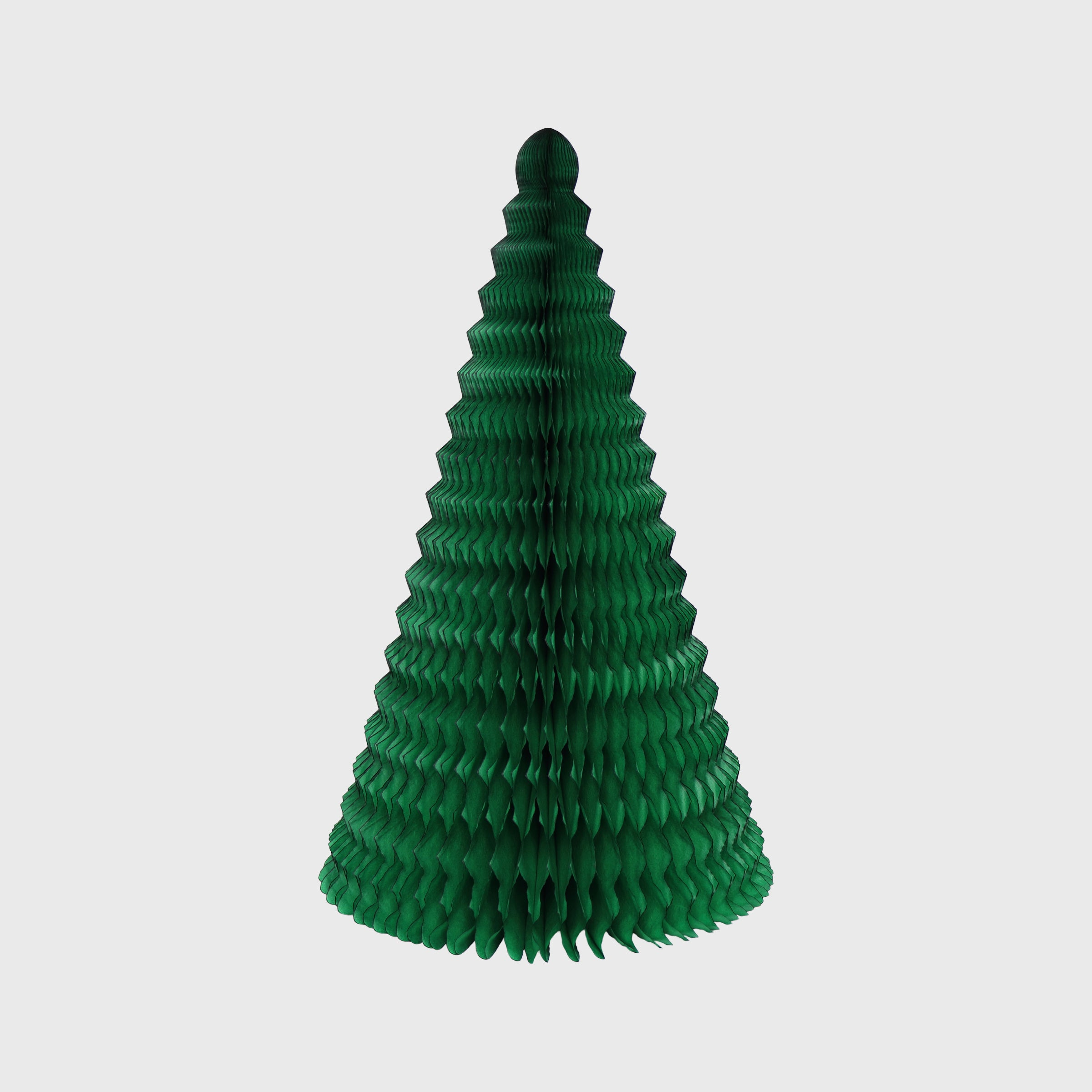 Cone Honeycomb Tree, Classic Green
