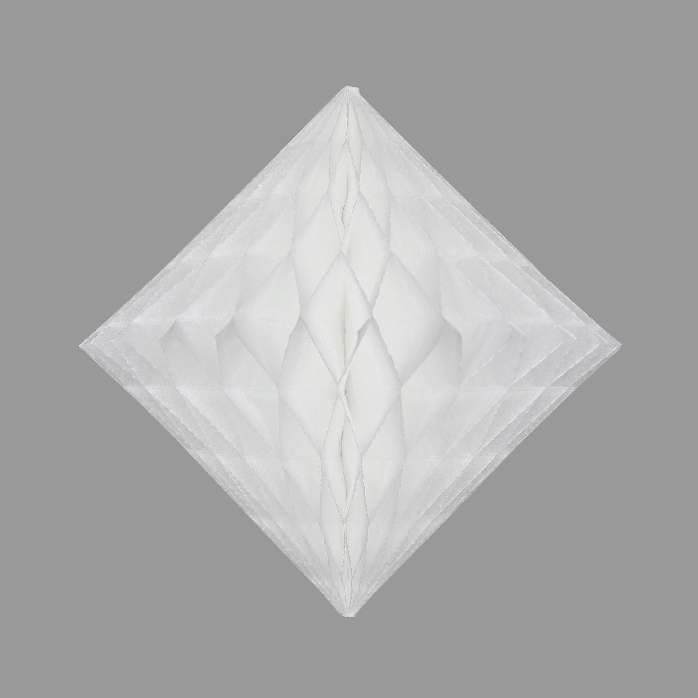 Honeycomb Diamond, White