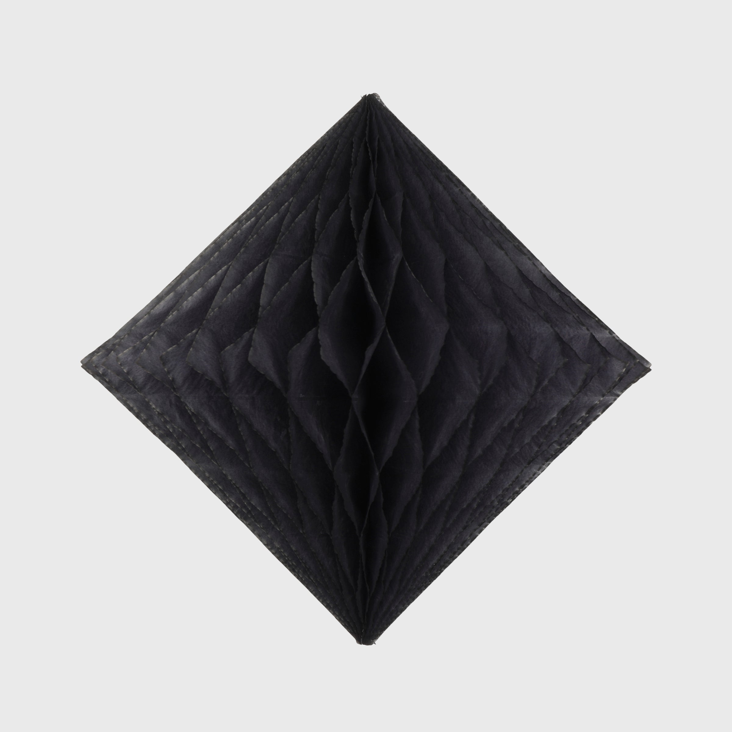 Honeycomb Diamond, Black