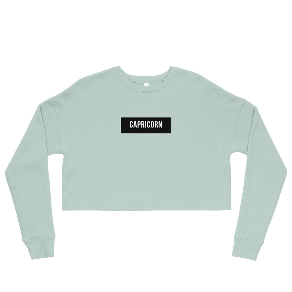 Capricorn Crop Sweatshirt