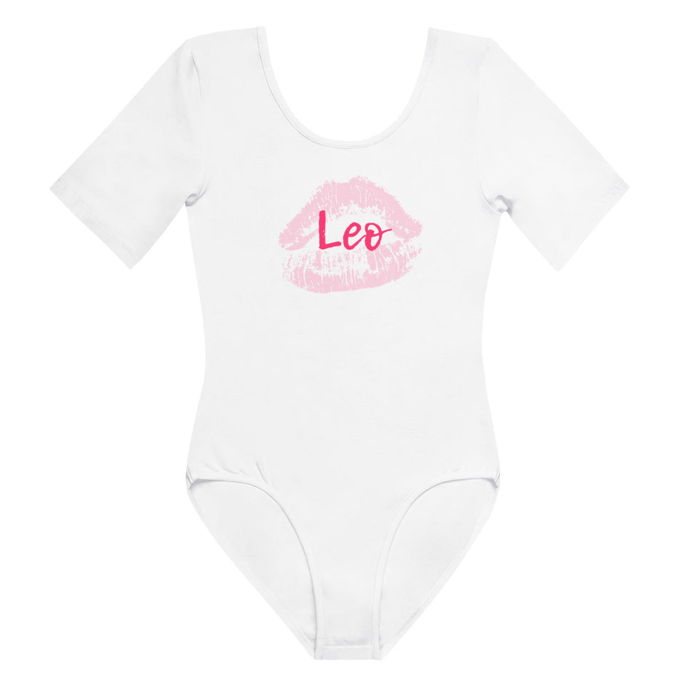 Leo Kiss Short Sleeve Bodysuit