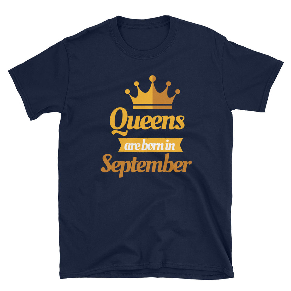 Virgo Queens Are Born In September T-Shirt