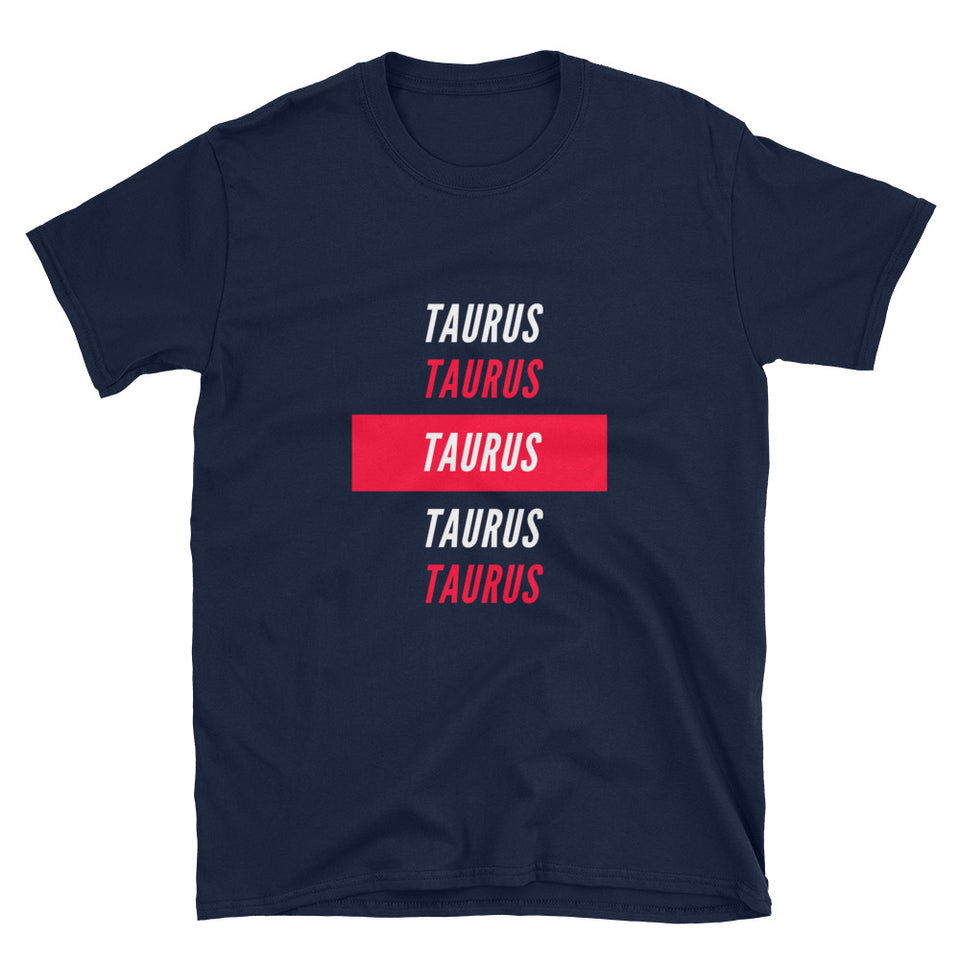 Taurus Repeated T-Shirt