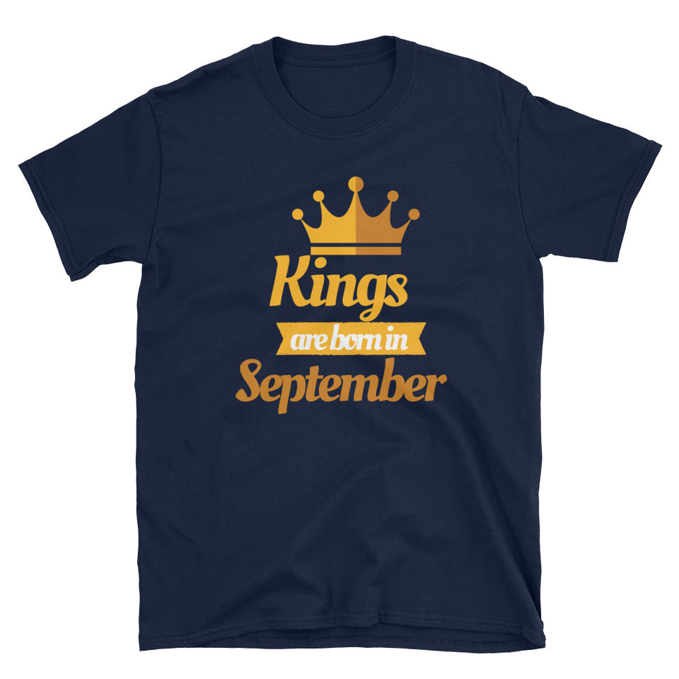 Virgo Kings Are Born In September T-Shirt