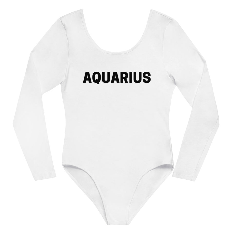 Aquarius Long Sleeve Bodysuit