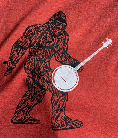 BIGFOOT BANJO SHIRT SHIRT HOUSE OF SWANK