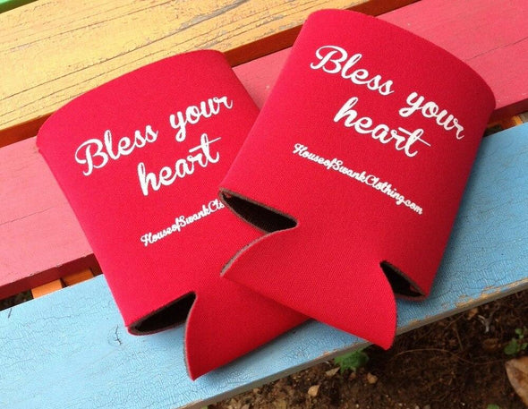 Bless your Heart Can Cooler ACCESSORIES HOUSE OF SWANK