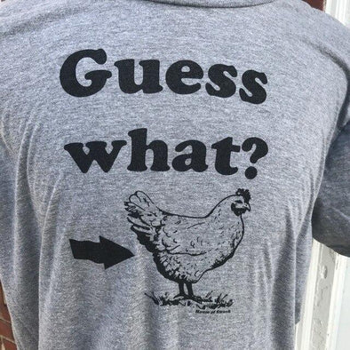 CHICKEN BUTT SHIRT - MEN SHIRT HOUSE OF SWANK