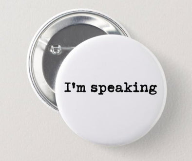 I'm speaking button ACCESSORIES HOUSE OF SWANK