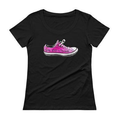 Kamala Harris Glass Ceiling Shoe Shirt - women SHIRT HOUSE OF SWANK