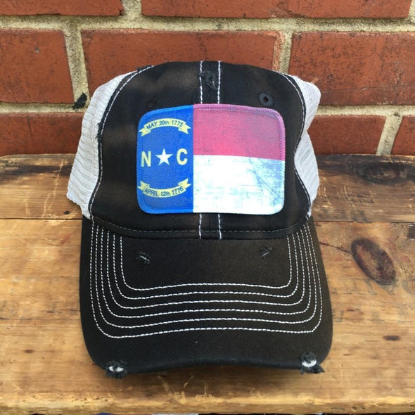 NC Flag Patch Hat HAT HOUSE OF SWANK