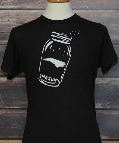 NC Mason Jar Moonshine Shirt SHIRT HOUSE OF SWANK