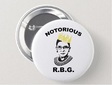 Notorious RBG Button ACCESSORIES HOUSE OF SWANK